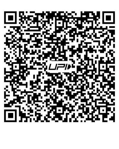 UPI QR Code for donation