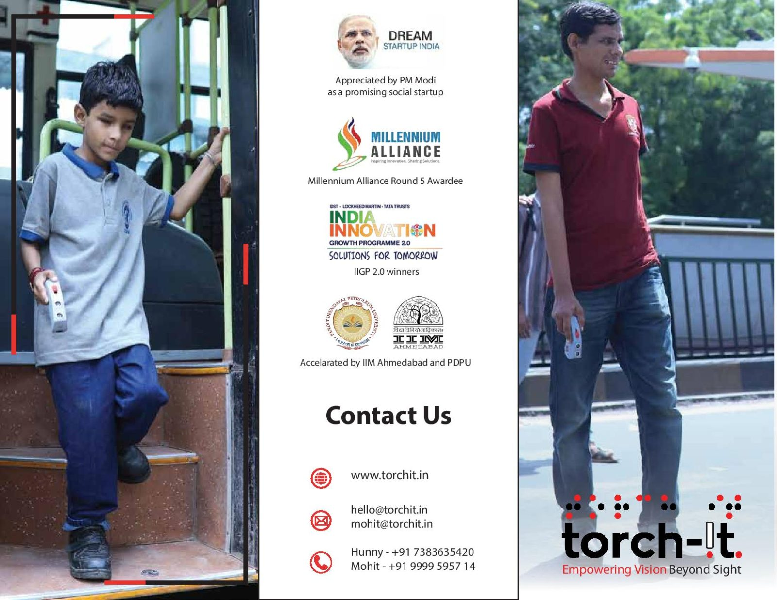 Torchit Trifold brochure